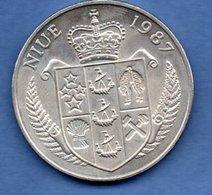 Niue  - 5 Dollars 1987  --  Km # 1-  état  SUP - Niue