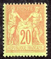 """""""Type Sage"""" N° 96 Neuf ** Gomme D'Origine Sans Charnière à 16 % De La Cote  TTB - 1876-1898 Sage (Type II)"""