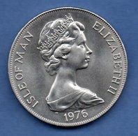Isle Of Man  - 1 Crown 1976  --  Km # 37  -  état  SUP - Grande-Bretagne