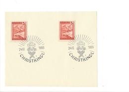 21021 - Christkindl 1955 Sur Feuillet 24.12.1955 - Noël