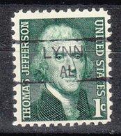 USA Precancel Vorausentwertung Preo, Locals Alabama, Lynn 835,5 - Etats-Unis
