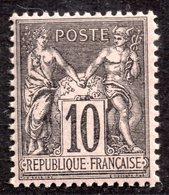 """""""Type Sage"""" N° 89 Neuf ** Gomme D'Origine Sans Charnière à 16 % De La Cote  TB - 1876-1898 Sage (Type II)"""