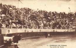 CORRIDA DE TOROS  La Sortie Du Toril RV - Corrida