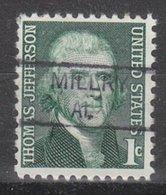 USA Precancel Vorausentwertung Preo, Locals Alabama, Millry 835,5 - Etats-Unis
