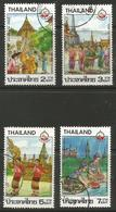 Thailand - 1987 Tourism Used   Sc 1186-9 - Thailand