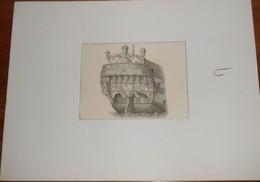 Poupe De L'Invincible. Construit Sous Louis XV. - Estampes & Gravures