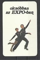 "Hungary, Ice Dancers, ""Expo"" Ad, 1982. - Tamaño Pequeño : 1981-90"
