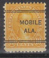 USA Precancel Vorausentwertung Preo, Locals Alabama, Mobile 642-243 - Vereinigte Staaten