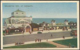 Wellington Pier, Great Yarmouth, Norfolk, 1953 - Postcard - Great Yarmouth
