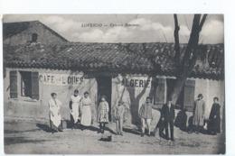 Cpa -  Algerie     Loverdo  Epicerie Rousseau  Rare   1935 - Autres Villes