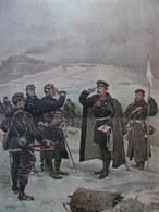 AFFICHE DEVANT BELFORT PARLEMENTAIRE 1886 Alphonse DE NEUVILLE  74 X 47.5 Cm - Affiches