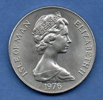 Isle Of Man     - 1 Crown 1976 --  Km # 38  -  état  SUP - Grande-Bretagne