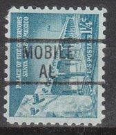USA Precancel Vorausentwertung Preo, Locals Alabama, Mobile 839 - Etats-Unis