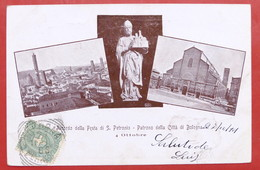 Cartolina Commemorativa - Ricordo Festa S. Petronio Patrono Di Bologna - 1901 - Non Classificati