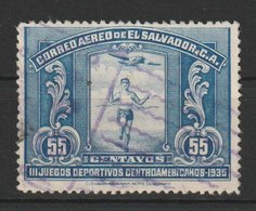 MiNr. 502 El Salvador  / 1935, 16. März. 3. Mittelamerikanische Sportspiele, San Salvador. - El Salvador