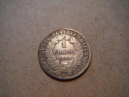 M24   1 Franc Cérès 1888A  Argent - H. 1 Franc