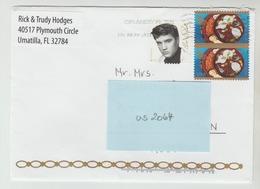 2015 ?  -  USA/Florida   - Brief / Bedarfsbeleg    - O Gestempelt - S. Scans (us 2064) - Briefe U. Dokumente