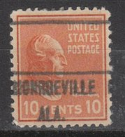 USA Precancel Vorausentwertung Preo, Locals Alabama, Monroeville 471 - Etats-Unis