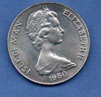 Isle Of Man     - 1 Crown 1980 --  Km # 63  -  état  SUP - Grande-Bretagne