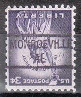 USA Precancel Vorausentwertung Preo, Locals Alabama, Monroeville 841 - Etats-Unis