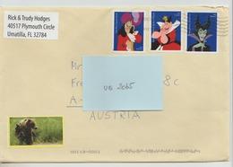 2015 ?  -  USA/Florida   - Brief / Bedarfsbeleg    - O Gestempelt - S. Scans (us 2065) - Briefe U. Dokumente