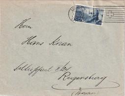 SUISSE 1929 LETTRE DE LUGANO - Lettres & Documents