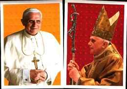 81979) VATICANO-3 INTERI POSTALI + FOLDER DELL'Inizio Del Pontificato Di Benedetto XVI - 2 Giugno 2005-FDC - Interi Postali