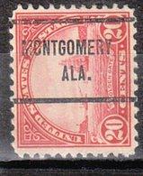 USA Precancel Vorausentwertung Preo, Locals Alabama, Montgomery 698-257 - Vereinigte Staaten