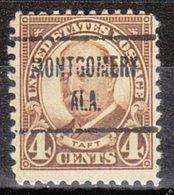 USA Precancel Vorausentwertung Preo, Locals Alabama, Montgomery 685-723 - Vereinigte Staaten