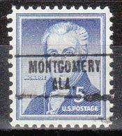USA Precancel Vorausentwertung Preo, Locals Alabama, Montgomery 748 - Etats-Unis