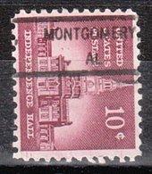USA Precancel Vorausentwertung Preo, Locals Alabama, Montgomery 832 - Vereinigte Staaten
