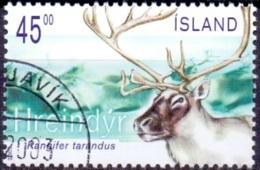 IJsland 2003 Rendier GB-USED. - 1944-... Republique
