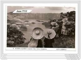 4906 PORTUGAL PC/CP FOTO/825 ACORES S.MIGUEL LAGOAS DAS SETE-CIDADES FOTO NOBREGA TTB - Açores