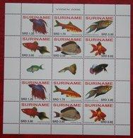 Surinam / Suriname 2006 POISSONS TROPICAUX FISH VIS VISSEN (ZBL 1395-1400 Mi -  Sc -) POSTFRIS / MNH ** - Surinam
