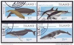 IJsland 2000 Walvissen II GB-USED. - 1944-... Republique