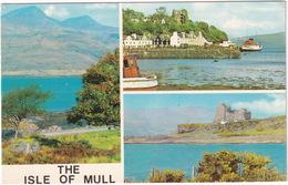 The Isle Of Mull - Duart Castle, Tobermory, Ben More - (Scotland) - Bute