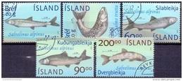 IJsland 2002 Vissen GB-USED. - 1944-... Republique