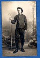 Carte Photo  -  Chasseur Alpins - Guerre 1914-18