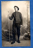 Carte Photo  -  Chasseur Alpins - War 1914-18