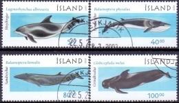 IJsland 2001 Walvissen III GB-USED. - 1944-... Republique