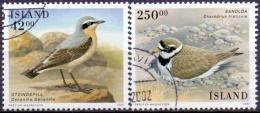IJsland 2001 Vogels GB-USED. - 1944-... Republique