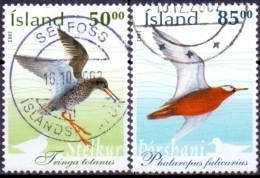 IJsland 2002 Vogels II GB-USED. - 1944-... Republique