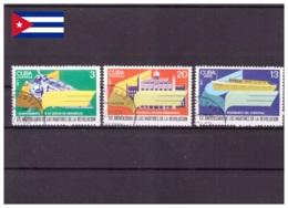 Cuba 1977 - Oblitéré - Histoire - Michel Nr. 2264-2266 Série Complète (cub321) - Cuba
