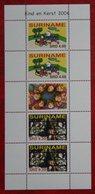 Surinam / Suriname 2006 Minisheet Kinderzegels Child Welfare XMas Kerst Noel (ZBL 1401-1402 Mi 2071 ) POSTFRIS / MNH ** - Surinam