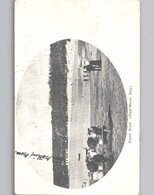 BLACK ROCK HALF-MOON BAY N Ew Zealand Beach Life Sent To Denmark 1905 - New Zealand