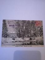 Luxembourg //  Mondorf Les Bains // En Hiver - Im Winter // Used 1911 Stamp Remouved - Mondorf-les-Bains