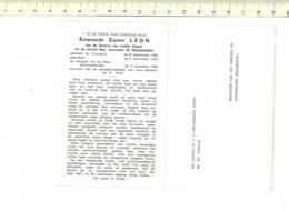 Do 7253 - EERWAARDE ZUSTER LEON - GERMAINE DE BRABANDER - ELVERSELE 1895 + 1964 - Images Religieuses