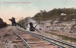 Work In Panama Canal - Panama