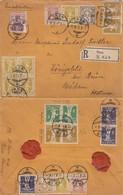 LETTRE. SUISSE. 12 II 1912. RECOMMANDÉ THUN POUR L'AUTRICHE - Briefe U. Dokumente