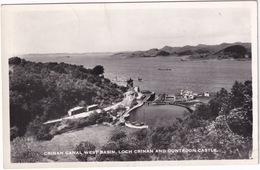 Crinan Canal, West Basin, Loch Crinan And Duntroon Castle  - (Scotland) - 1963 - Argyllshire